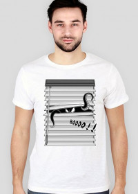 BOOOO!! - koszulka męska slim