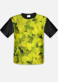 Liście - koszulka FullPrint