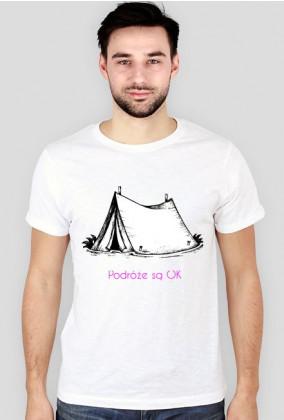Koszulka męska Podróże są OK