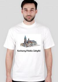 Koszulka męska Kochamy Polskie Zabytki