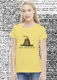 Gadsden - koszulka damska (women's t-shirt)