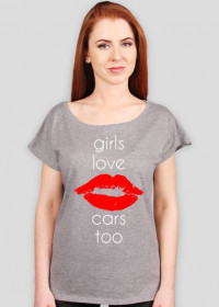 GIRLS LOVE CARS TOO T-SHIRT