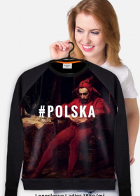 "Bluza damska ""#Polska"""