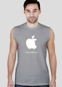 "Koszulka bez rękawów ""Think different"""