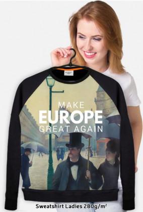 "Gruba bluza ""Make Europe Great Again"""