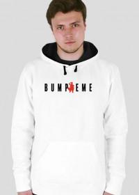 BUMPREME WHITE HOODIE