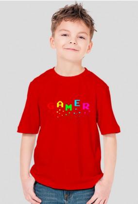 Koszulka dziecięca GAMER