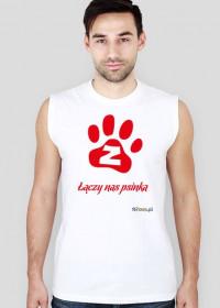 Łączy nas psinka - koszulka męska bez rękawów