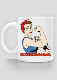 Kubek Supermama prezent dla mamy
