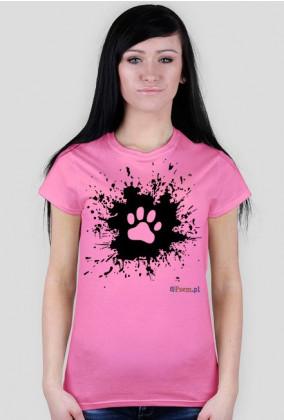 Łapka na błocie - koszulka damska