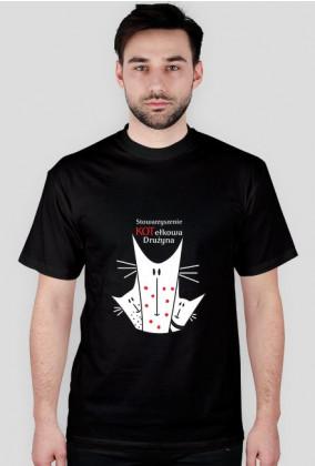 Koszulka męska z logiem Kotełkowej Drużyny