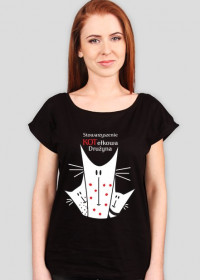 Koszulka damska z logiem Kotełkowej Drużyny