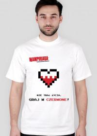 Koszulka #GrajwCzerwone
