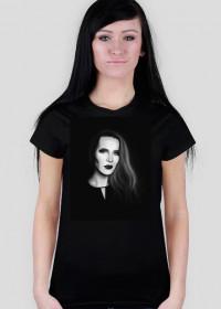 T-shirt damski SMOON (BW)
