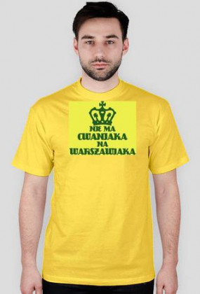 Nie ma Cwaniaka T-Shirt Yellow Men