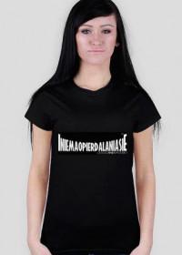 Robert Burneika Text T-Shirt Black Women