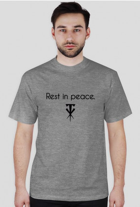"""""""Rest in peace"""" T-Shirt [NEW]"""
