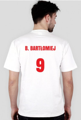 Koszulka reprezentanta Polski - B. BARTŁOMIEJ - HIT