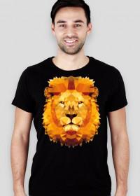 Power lew koszulka męska