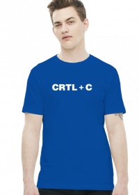 Koszulka dla taty CTRL + C