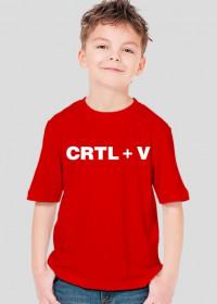 Koszulka dla dziecka CTRL + V