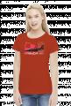 AeroStyle - damska czerwona koszulka Iryda