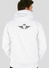 """Bluza z kapturem """"Ryby"""" z logo Wolf Squadu"""