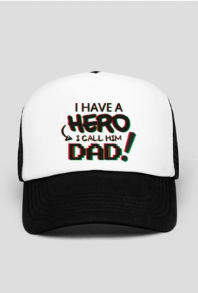 Czapka Hero Dad - PoppyField