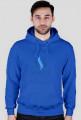 Bluza Niebieskie Logo