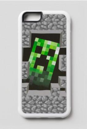 Etui iPhone 6/6s - Minecraft Creeper
