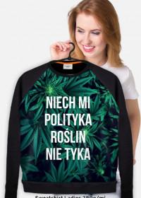 """Gruba bluza damska """"Marihuana"""""""