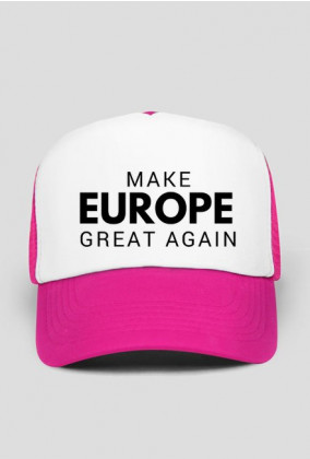 "Czapka ""Make Europe Great Again"""