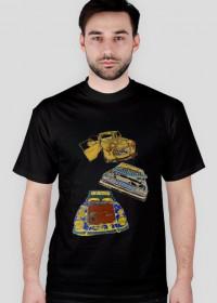 Wrecks on T-shirt