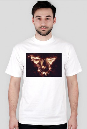 T- shirt z gołębiem #1