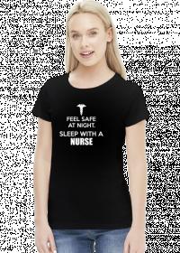 Feel safe at night - sleep with a nurse