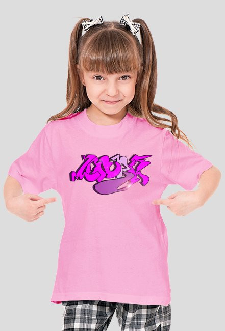 Laura koszulka z imieniem dla dziewczynki 3
