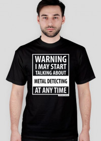 Warning Metal Detecting