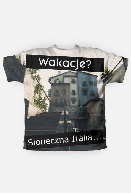 Koszulka Wakacje? Słoneczna Italia...