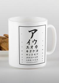 Katakana - Mug with japanese writing