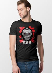 Monkey T-shirt with japanese writing
