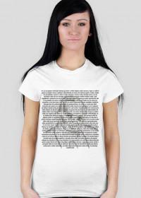 Koszulka damska no i ja się pytam człowieku (różne kolory)