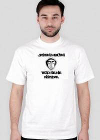 Jestem Kibicem White T-Shirt Anty PZPN Tusk
