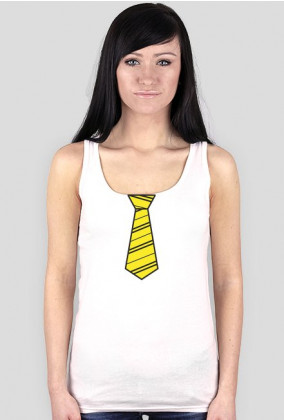Koszulka Harry Potter Hufflepuff krawat