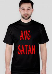 """koszulka męska """"ave satan/666"""""""