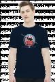 AeroStyle - męska granatowa koszulka Spitfire 303