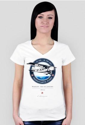 AeroStyle - damska koszulka RWD Transatlanyk