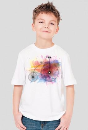 Koszulka dziecięca Rower retro