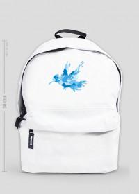 """Plecak """"niebieski ptaszek"""""""