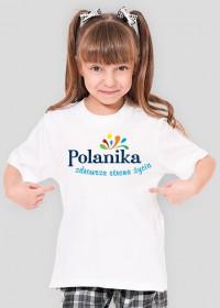 Koszulka dziewczęca Polanika z logo
