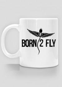 """AeroStyle - kubek """"Born to fly"""""""